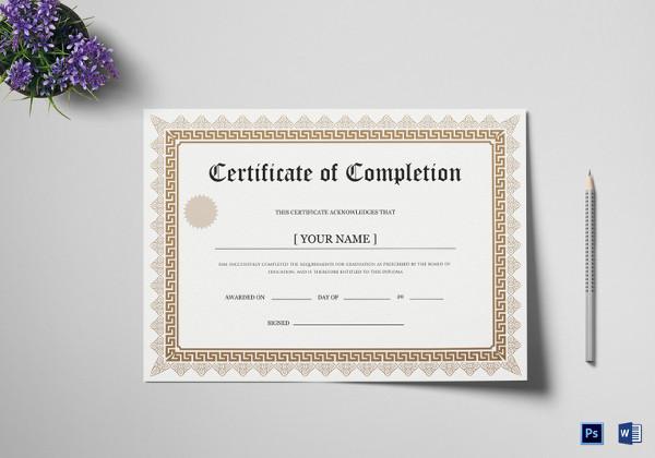 38+ Sample Certificate Templates - PDF, DOC Free  Premium Templates