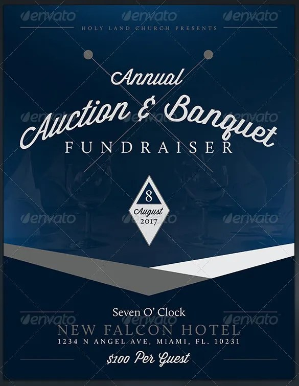 Fundraiser Flyer Templates \u2013 37+ Free PSD, EPS, AI Format Download