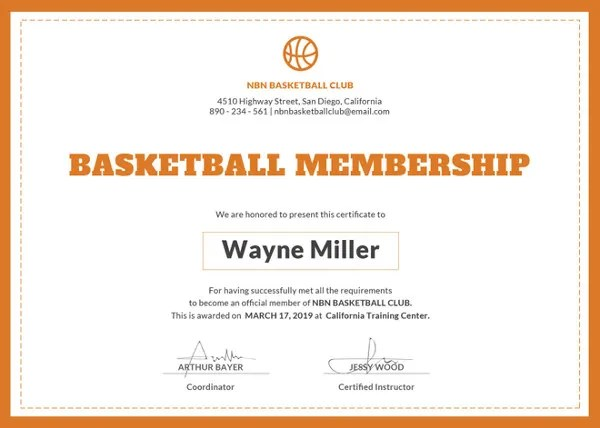 23+ Membership Certificate Templates - Word, PSD, In Design, AI