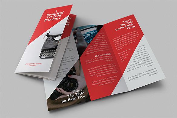 Beautiful-Tri-Fold-Brochure-Designjpg (585×390) leaflet - tri fold brochure