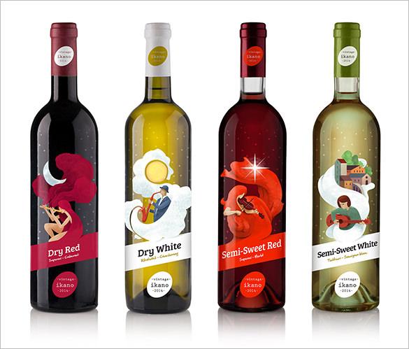 Free wine label template - free wine bottle label templates