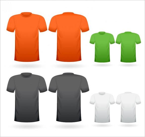 Blank T Shirt Template \u2013 20+ Free PSD, Vector EPS, AI, Format - t shirt template