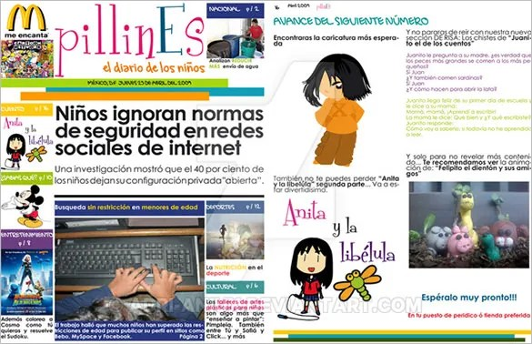 12+ Kids Newspaper Templates \u2013 Free Sample, Example, Format Download - Newspaper Templates For Kids
