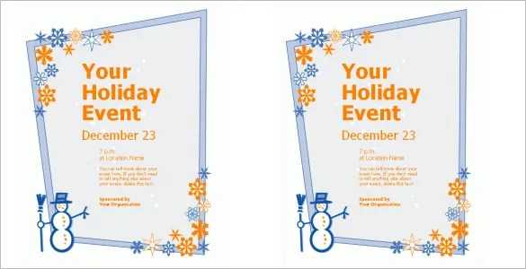 19+ Fantastic Invitation Flyer Templates Free  Premium Templates