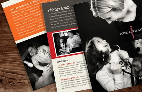 chiropractic flyers templates - Apmayssconstruction