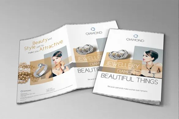 Lovely Jewelry Brochure Template Contemporary  Resume Ideas