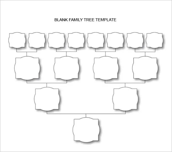 Blank Family Tree Chart - 6+ Free Excel, Word Documents Download