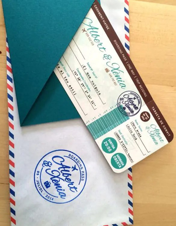 20+ Boarding Pass Invitation Templates - PSD, AI, Vector EPS Free - plane ticket invitation template