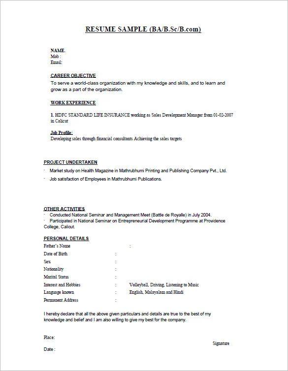 powerful sales resume samples