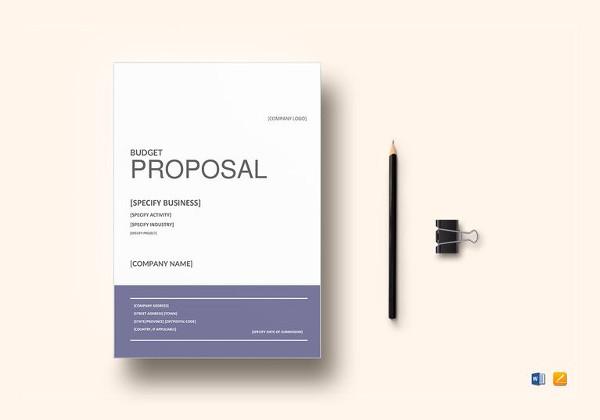 Bid Proposal Templates - 19+ Free Word, Excel, PDF Documents - Bid Proposal Template Free