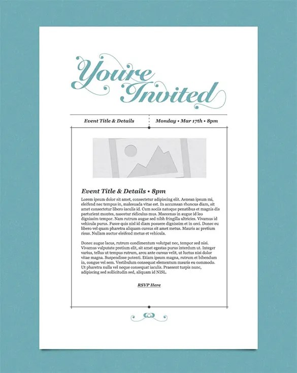 30+ Business Email Invitation Templates - PSD, Vector EPS, AI Free