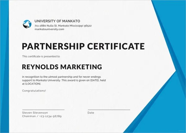 Printable Certificate Template - 35+ Adobe Illustrator Documents