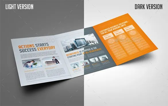 39+ Corporate Brochure Template PSD Designs Free  Premium Templates - Tri Fold Brochures Free