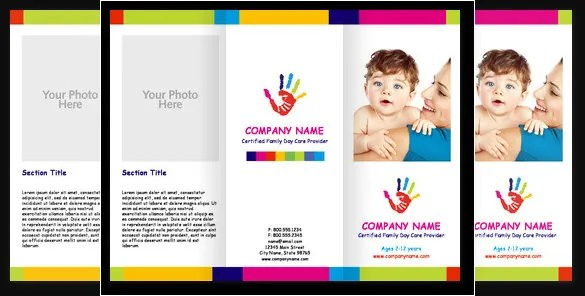 daycare brochure sample - Goalgoodwinmetals - sample preschool brochure