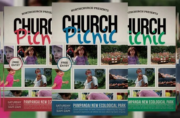 Picnic Flyer Template Word Free Kicksneakers