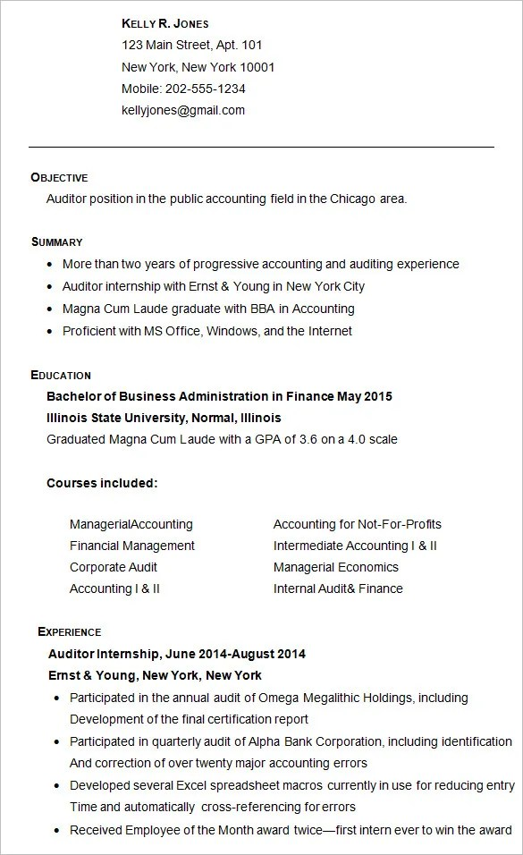 sample college resume - Josemulinohouse