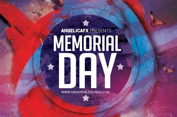 12+ Memorial Day PSD Flyer Templates  Designs! Free  Premium