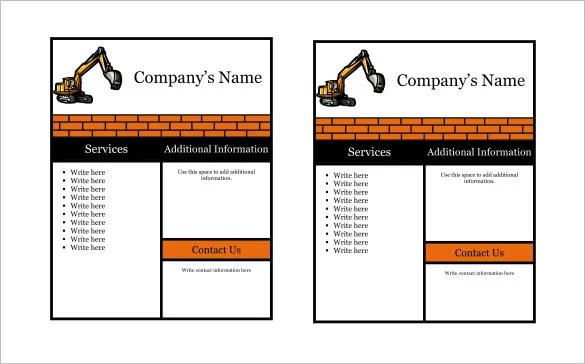 22+ Company Flyer Templates \u2013 PSD, EPS  Word Files Download! Free