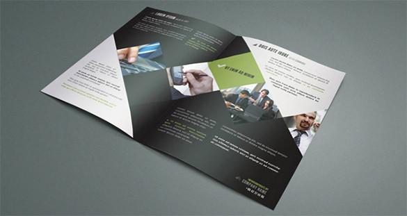 two fold flyers - Mersnproforum - two fold brochure