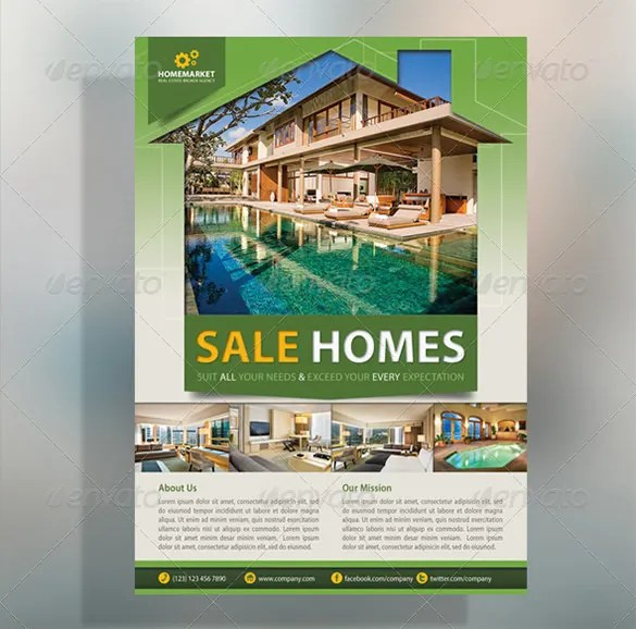 home for sale template
