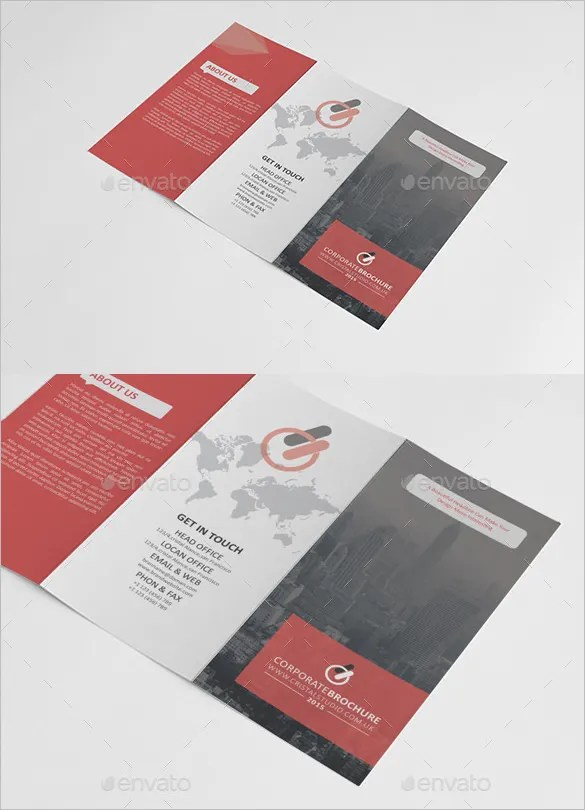 Tri Fold Brochure Templates - 45+ Free Word, PDF, PSD, EPS, InDesign - brochure format word