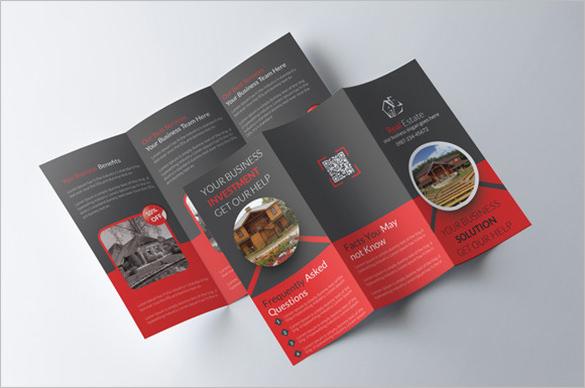 20+ Real Estate Brochures \u2013 Free PSD, EPS, Word, PDF, InDesign