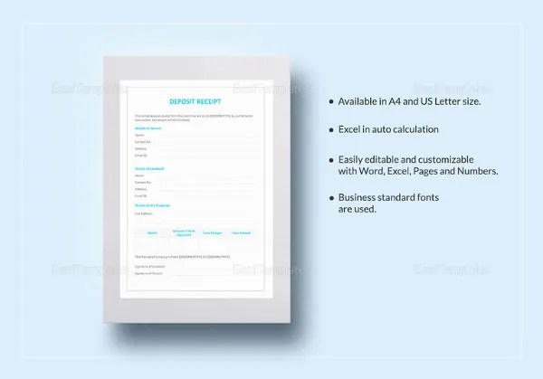 30+ Money Receipt Templates - DOC, PDF Free  Premium Templates - money receipt design