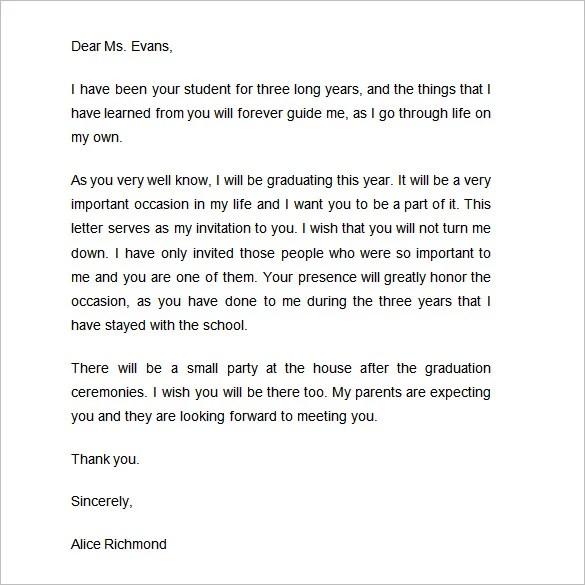 Invitation letter for a graduation resume pdf download invitation letter for a graduation free sample invitation letters free sample letter templates 50 microsoft invitation thecheapjerseys Image collections