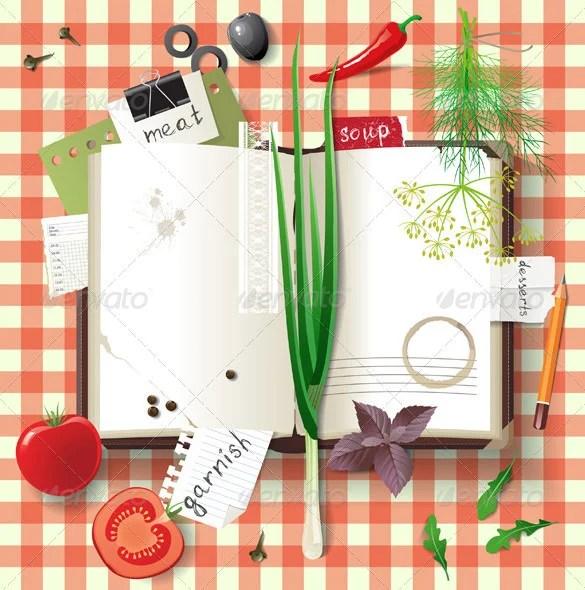 31+ Cookbook Templates - PSD, AI, Vector EPS Free  Premium Templates