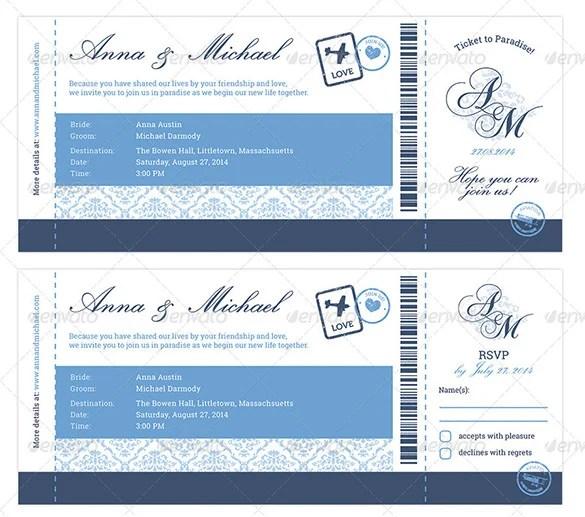 28+ Boarding Pass Invitation Templates - PSD, AI, Vector EPS Free