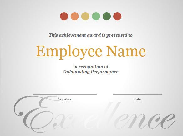 google doc award template - Elitaaisushi