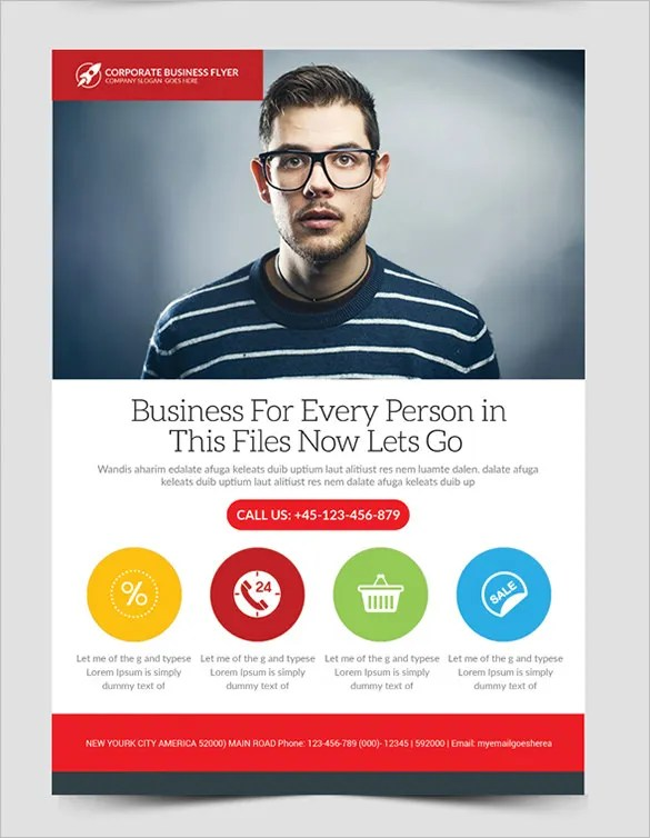 20+ Fabulous Free Business Flyer Templates Free  Premium Templates