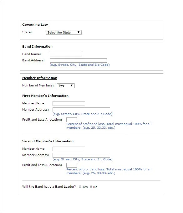 11+ Booking Agent Contract Templates \u2013 Free Word, PDF Documents - free contractor forms templates