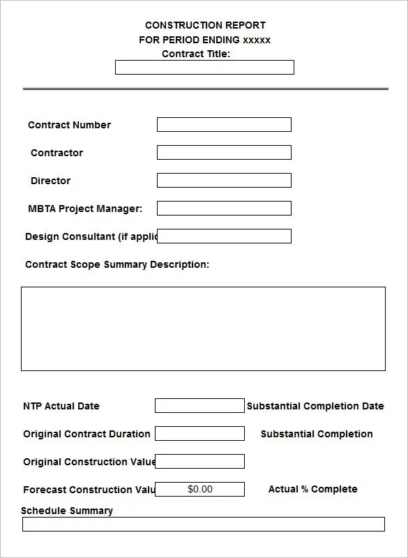 Sample Contract Summary Template  NodeCvresumePaasproviderCom