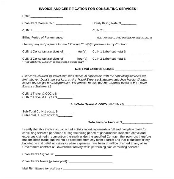 55+ Microsoft Invoice Templates - PDF, DOC, Xls Free  Premium