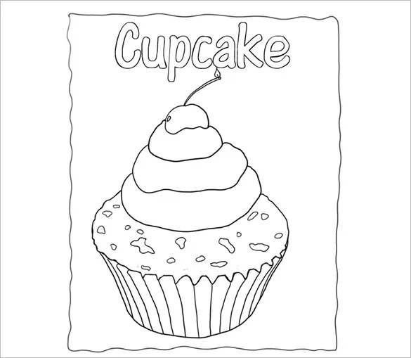 Printable Cupcake Template - 25+ EPS, Word Documents Download Free