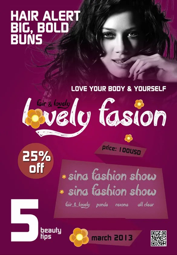 24 + Fashion Flyer PSD Templates  Designs! Free  Premium Templates