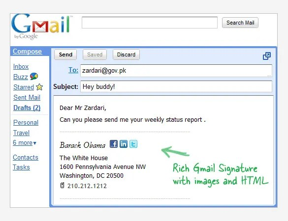 25+ Gmail Signature Templates u2013 Samples, Examples \ Format! Free - free mail sample