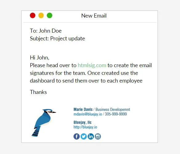 28+ Best Email Signature Generators, Tools  Online Makers Free - business signature email