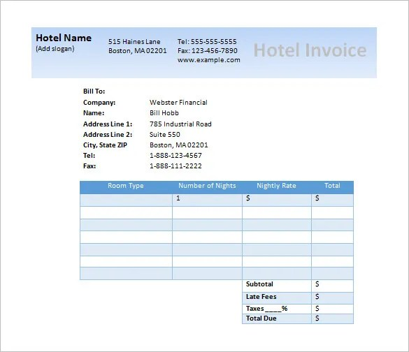 55+ Microsoft Invoice Templates - PDF, DOC, Xls Free  Premium - invoice template download word