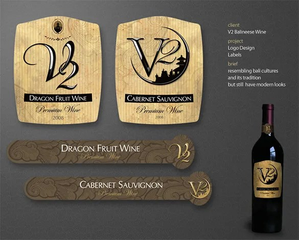 Wine Label Template - 36+ Free PSD, EPS, AI, Illustrator Format