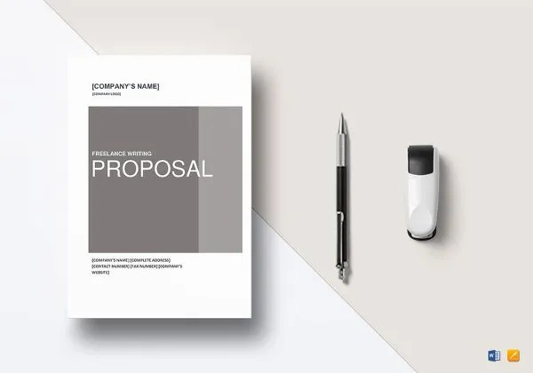 16+ Writing Proposal Templates - Free Sample, Example, Format