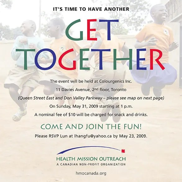 Get Together Invitation Template - 21+ Free PSD, PDF Formats - get together invitation template