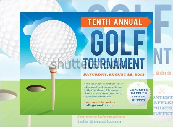 25+ Fabulous Golf Invitation Templates \ Designs Free \ Premium - flyer invitation templates free