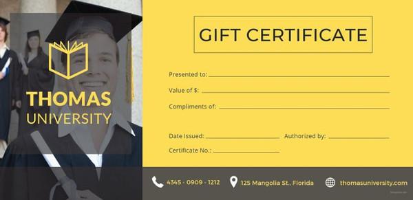 18+ Graduation Certificate Templates - Word, PDF Documents Download - graduation certificate template free