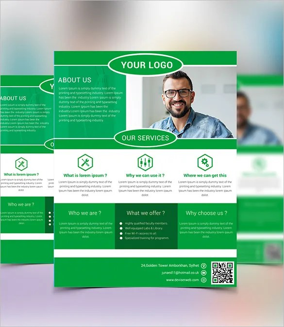 New Business Flyer Template Free Gallery Template Design Free Download - Business advertising flyers templates free