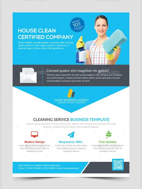 House Cleaning Flyer Template - 17+ PSD Format Download Free - free flayer design