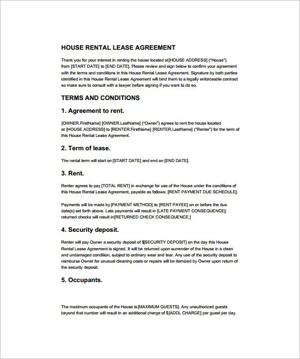15+ Rental Contract Templates - PDF, Docs, Word Free  Premium