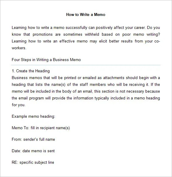 6+ Accounting Memo Templates \u2013 Free Word, PDF Documents Download