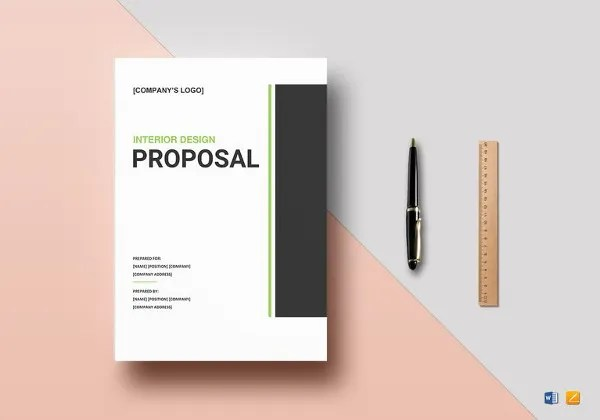 Design Proposal Template - 17+ Free Word, Excel, PDF Format Download